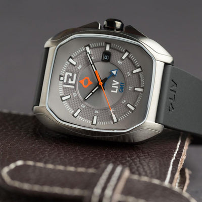 LIV Rebel GMT Cosmic Gray - LIV Swiss Watches