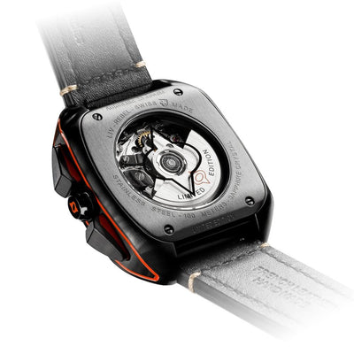 LIV Rebel-AC Black & Cosmic Gray - LIV Swiss Watches