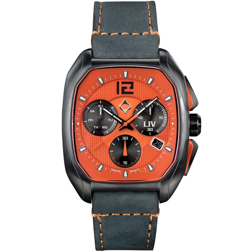 LIV Rebel-DDC The Orange - LIV Swiss Watches