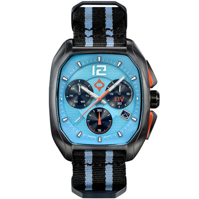 LIV Rebel-DDC T.J. Blue - LIV Swiss Watches