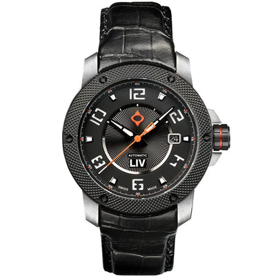 LIV GX1-A Classic Black - LIV Swiss Watches