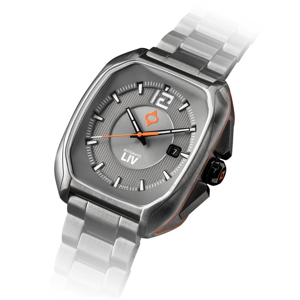 LIV Rebel-A Cosmic Gray - LIV Swiss Watches