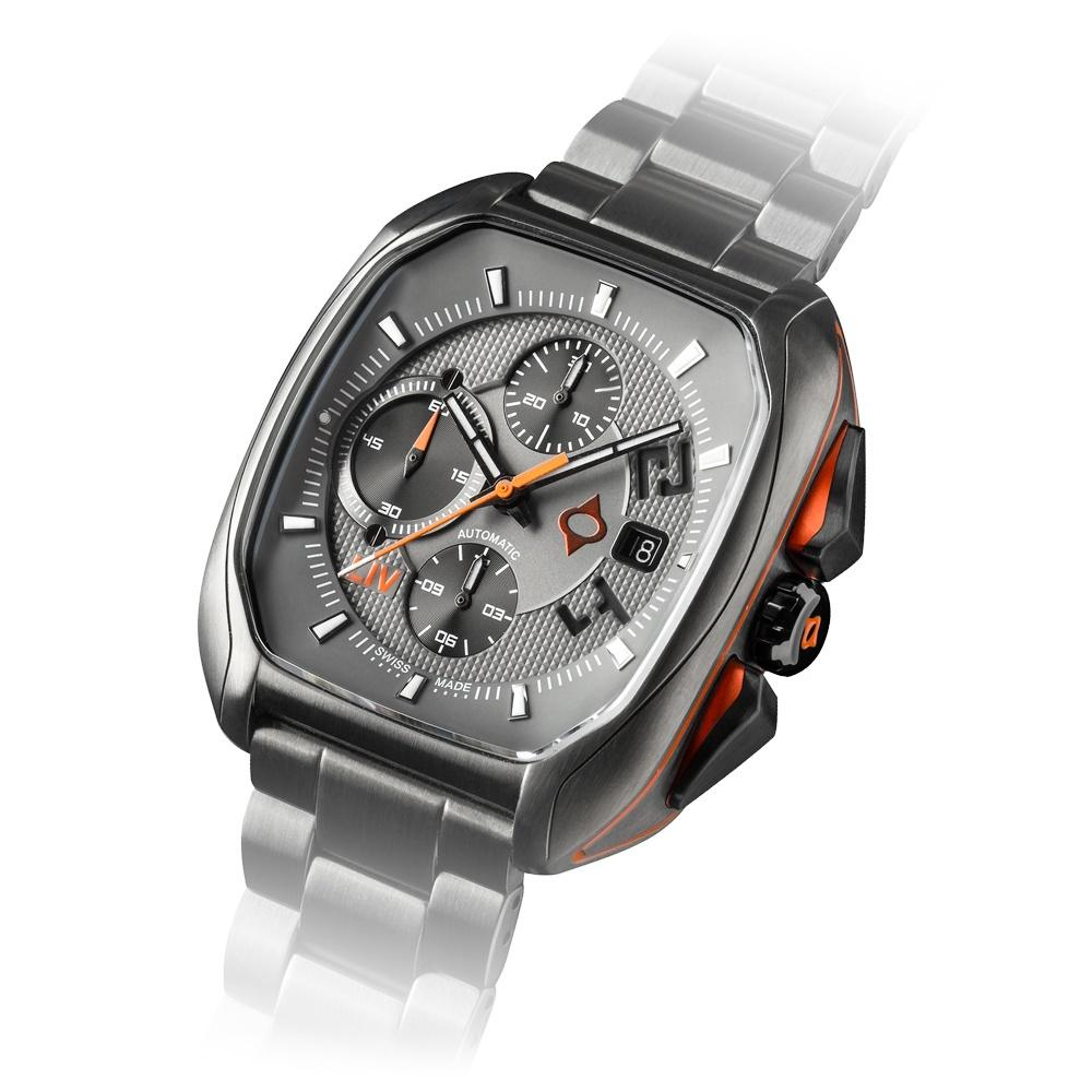 LIV Rebel-AC Cosmic Gray - LIV Swiss Watches
