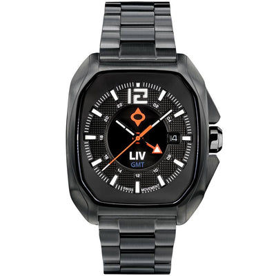 LIV Rebel GMT Classic Black - LIV Swiss Watches