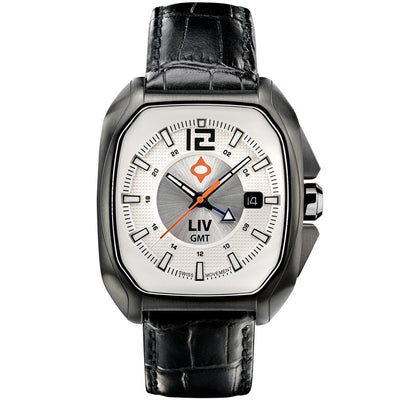 LIV Rebel GMT Aspen White - LIV Swiss Watches