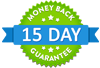 15 Day Money Back Guarantee