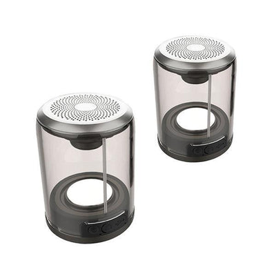 IHRneer Magnetic Bluetooth Speaker transparent (2 Colors)