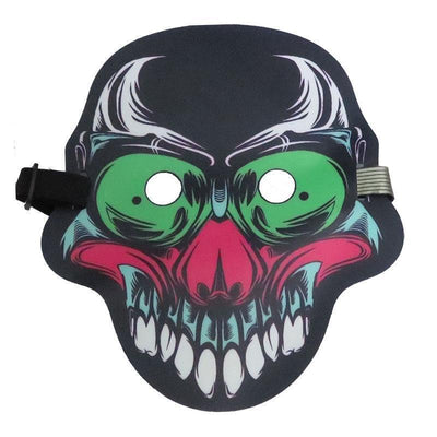Ihrtrade Voice-activated Halloween Scary Mask (20 Types)