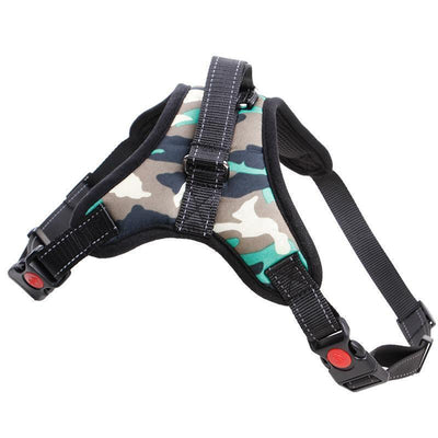 IHRneer Dog Walking Outing Nylon Harness (5 colors & 3 sizes)