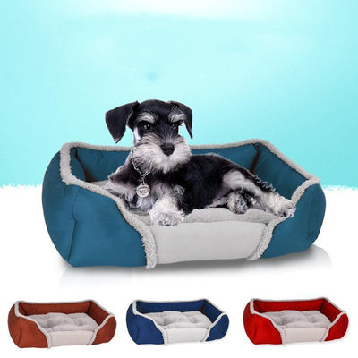 IHRneer Dual-Use Cushion Breathable Dog Nest Bed (4 colors & 4 sizes)