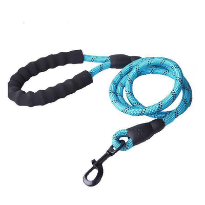 IHRneer Nylon Sponge Handle Reflective Traction Rope (8 colors)