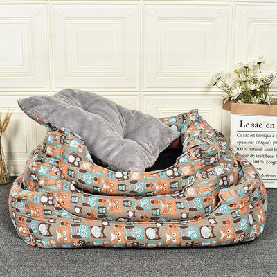 IHRneer Owl Dying Winter Thermal Pet Bed (3 Sizes)