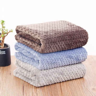 IHRneer Pet Blanket Autumn Winter Sleeping Mat (3 colors & 2 sizes)