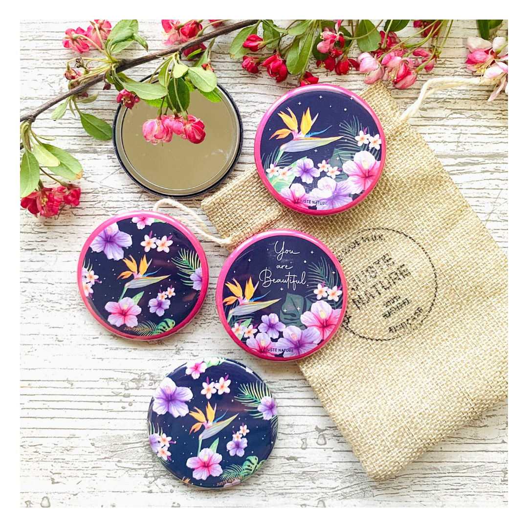 JUSTE NATURE POCKET MIRROR FREE WITH EACH GIFT SET