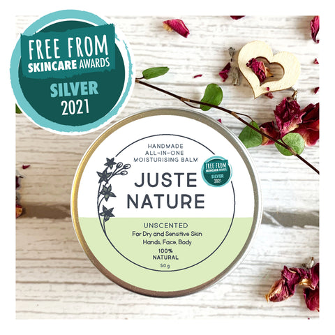 juste nature unscented all-in-one balm
