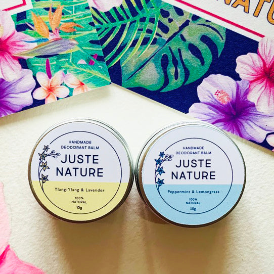 MINI SET DEODORANT BALM JUSTE NATURE