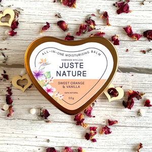 Juste Nature 50g Sweet Orange and Vanilla All-In-One Moisturising Balm