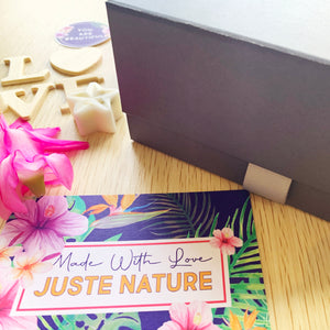Juste Nature grey magnetic box