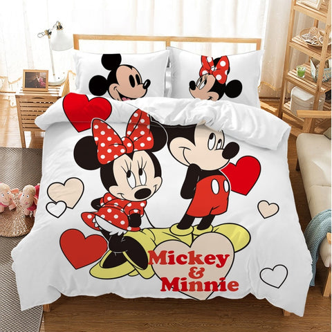 Housse de Couette Mickey Minnie