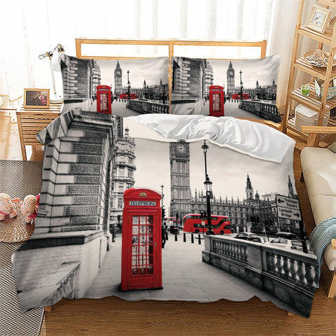 Housse de Couette Fille London