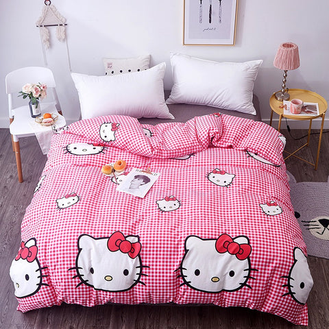 Housse de Couette 140x200 Hello Kitty