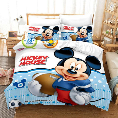 Housse de Couette Mickey Rugby