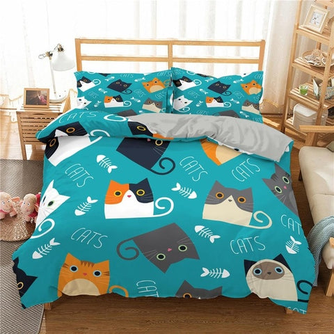 Couverture Motif Chat