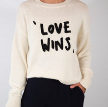 Load image into Gallery viewer, Oversized Hand embroidered knitted sweater|BOLD