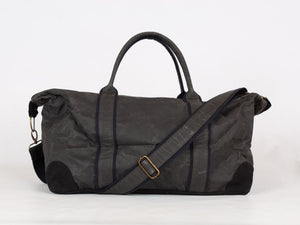 Black Recycled Weekend Bag