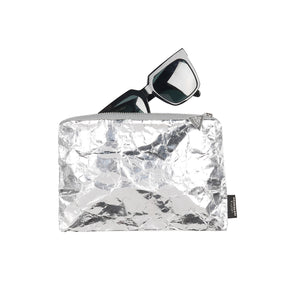 Recycled Mini Bag|SILVER