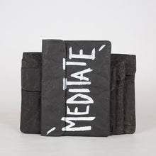 Load image into Gallery viewer, Black Recycled Paperbag (Mini size)