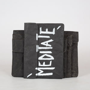 Black Recycled Paperbag (Mini size)