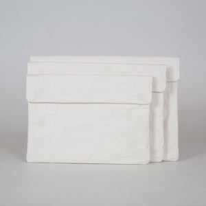 White Recycled Paperbag (Medium Size)