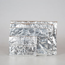 Load image into Gallery viewer, Silver Recycled Paperbag (Medium Size)