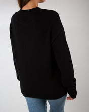 Load image into Gallery viewer, Oversized Hand embroidered knitted sweater |BOLD