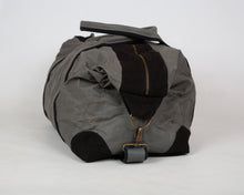 Load image into Gallery viewer, Black Recycled Weekend Bag