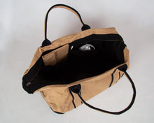 Load image into Gallery viewer, Natural Recycled Weekend Bag