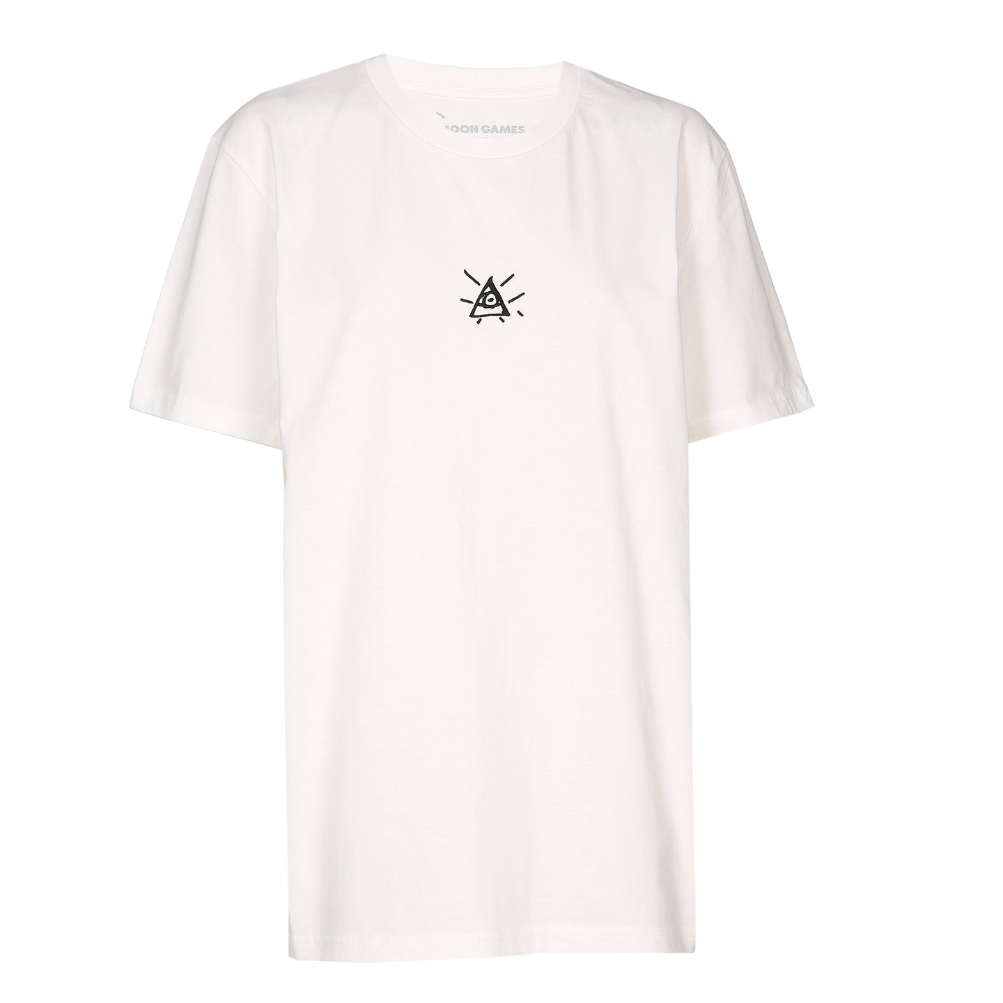 Oversized Third-Eye Embroidered Tee|OFFWHITE