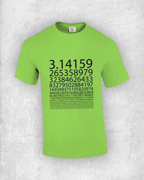 PI Numbers T-Shirt