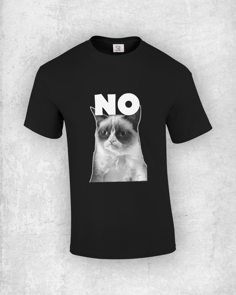 No. Meme Cat T-Shirt