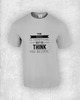 The mind is everything. What you think you become - Quote T-Shirt Design