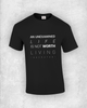 An unexamined life is not worth living - Socrates - Quote T-Shirt Design