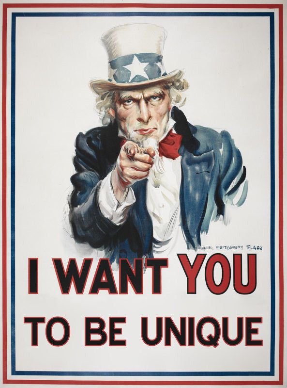 I Want You for US Army Custom T-Shirt