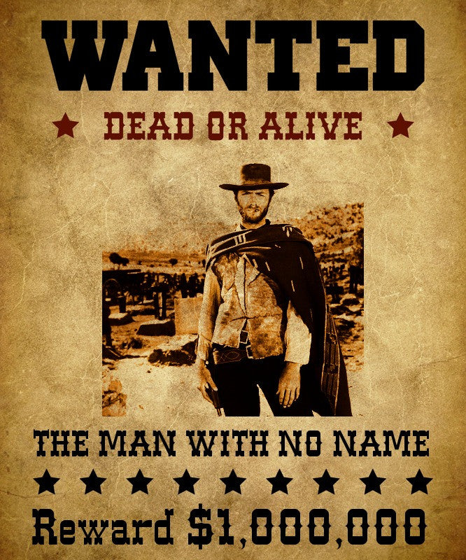 Western Wanted Custom T-Shirt