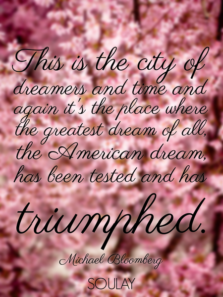 This is the city of dreamers and time and again it's the place where the greatest dream of all, t... (Poster)