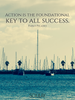Action is the foundational key to all success. - Quote Poster