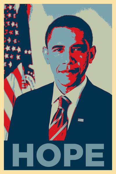 "Obama's ""Hope"" Poster T-Shirt Maker"