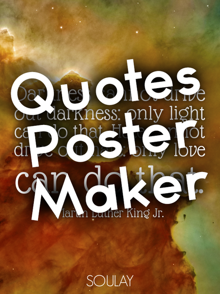 Quotes Poster Maker
