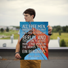 All free men, wherever they may live, are citizens of Berlin. And t... - 18x24 Poster