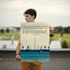I was motivated to be different in part because I was different. - 18x24 Poster